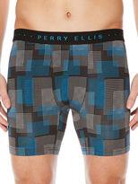 Perry Ellis Digital Grid Boxer Brief