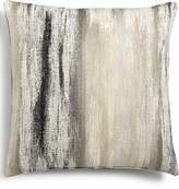 "Hallmart Collectibles Gray Abstract-Print Velvet 20"" Square Decorative Pillow"