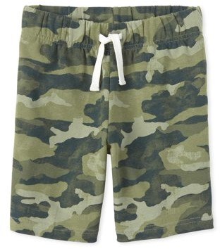 The Children's Place Boys Camo Print Knit Shorts, Sizes 4-16