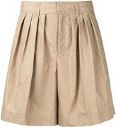 Le Ciel Bleu volume shorts - women - Cotton/Polyester - 34