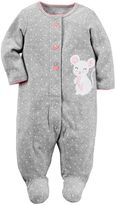 Carter's Baby Girl Polka-Dot Mouse Sleep & Play