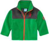 U.S. Polo Assn. Boys Midweight Fleece Jacket-Baby
