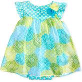 Bonnie Baby Floral-Print Romper Dress, Baby Girls (0-24 months)