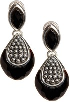 Lagos Sterling Silver Maya Onyx Drop Earrings