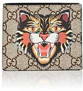 Gucci Men's Angry-Cat GG Supreme Billfold