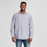 Merona Men's Big & Tall Long Sleeve Stripe Button Down Shirt