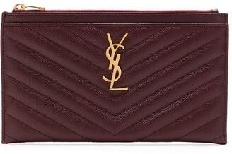 Saint Laurent Monogramme quilted wallet