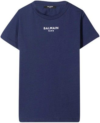 Balmain Blue T-shirt Teen