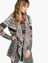 Lucky Brand Mixed Stripe Cardigan