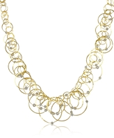 Orlando Orlandini Scintille Anniversary - Diamond 18K Yellow Gold Necklace