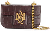 Alexander McQueen small insignia chain satchel - women - Calf Leather - One Size