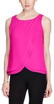 Lauren Ralph Lauren Sleeveless Georgette Top, Pink