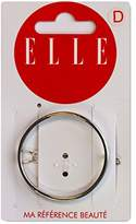 Elle Bar Circle Silver – Pack of 2