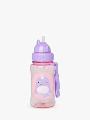 Skip Hop Zoo Narwhal Straw Bottle