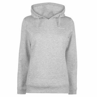 L.A. Gear Womens OTH Hoody Ladies Long Sleeve Casual Hoodie Sweat Top Grey Marl 18 (XXL)