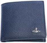 Vivienne Westwood Milano Basic Coin Wallet in Navy