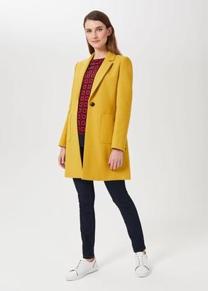Hobbs Corina Coat With Wool