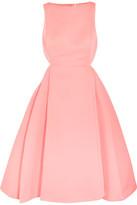 Halston Cutout Faille Dress