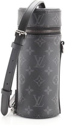 Louis Vuitton Bottle Holder Monogram Eclipse Canvas