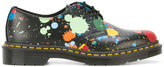 Dr. Martens floral print shoes - women - Leather/rubber - 41