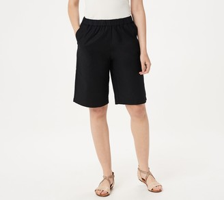 Denim & Co. Pull-On Bermuda Shorts