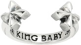 King Baby Studio Open Ring w/ MB Crosses Ring