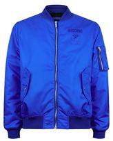 Moschino Oversized Logo Bomber Jacket