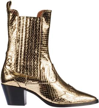 Paris Texas Elasticated Panel Boots