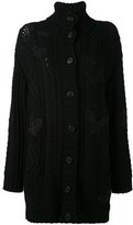 Valentino Women's Black Wool Coat.