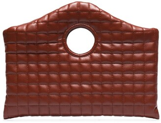 A.W.A.K.E. Mode Anouk quilted clutch
