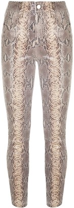 RtA Madrid snakeskin-print trousers