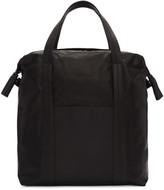 Maison Margiela Black Leather Tote Bag