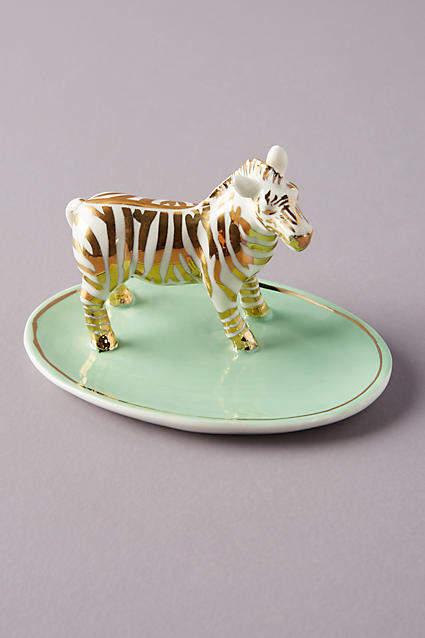 Anthropologie Safari Trinket Dish