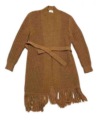 Vicolo Camel Wool Coats