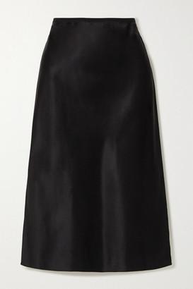 Joseph Isaak Silk-satin Midi Skirt
