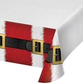 Santa's Suit Plastic Tablecloth - Set of Two