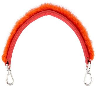 Fendi Pre-Owned faux fur detachable strap