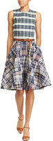 Polo Ralph Lauren Madras Fit-And-Flare Dress