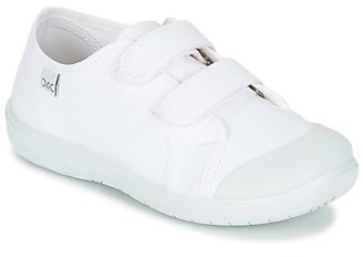 Citrouille et Compagnie GLASSIA girls's Shoes (Trainers) in White