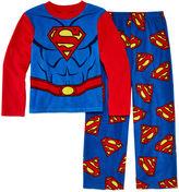 LICENSED PROPERTIES 2-pc. Fleece Superman Pajama Set - Boys 4-10