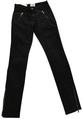 Bel Air Black Cotton - elasthane Jeans for Women
