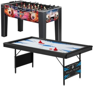 """2 Games 92"""" Multi Game Table Fat Cat"""