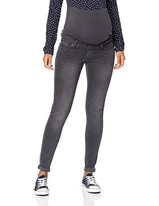 Noppies Women's Jeans OTB Skinny Avi Cloudy Grey Maternity P, W29/L30 (Size: 29/30)