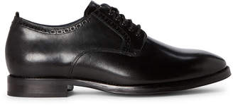 Cole Haan Black Jefferson Leather Derby Shoes