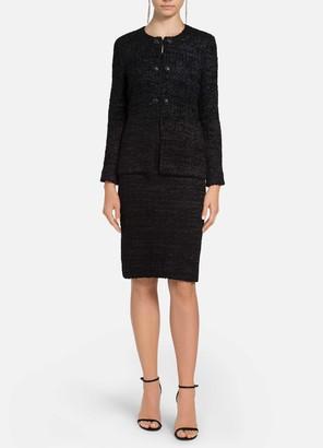 St. John Ribbon Couture Float Knit Jacket