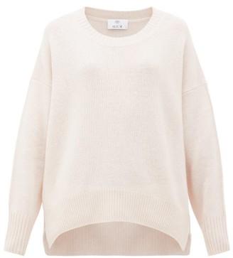 Allude Draped Cashmere Sweater - Beige