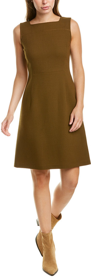 Lafayette 148 New York Jojo Wool Sheath Dress