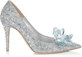 Jimmy Choo ALIA Crystal Covered Pointy Toe Pumps