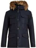 Fusalp Belledone Fur-trimmed Hooded Ski Jacket