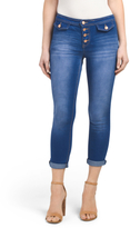 Juniors Skinny Mid Rise Jeans